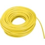 PUR-Leitung H07BQ-F 5G4,0 gelb, Trommel, Voll-PUR