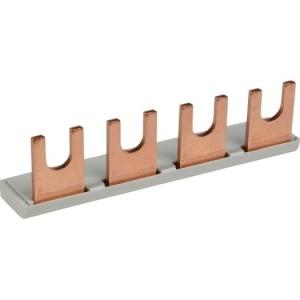 EKONT Gabel Sammelschiene 1-Phase, L-Ausführung 2 x 1 Pol