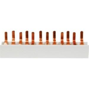 4-Phasen-Stiftschiene 6 x LS 1-Polig + N