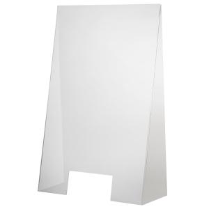 Hygieneschutzwand 60 x 28 cm, H 98cm. Öffnung 25 x 12 cm 98000