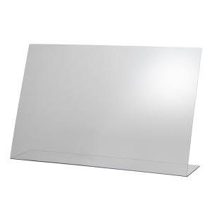Hygieneschutzwand ohne Öffnung 75 x 18 cm, H 48 cm 98003