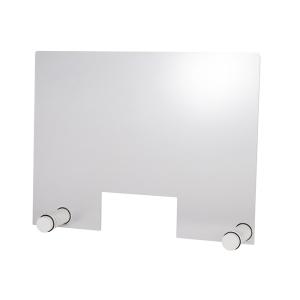 Hygieneschutzwand ROUND WHITE Öffnung 26 x 13 cm 98012