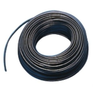 Aderltg., H07V-K 16,0, schwarz flexibel, 100m Ring