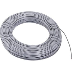 Aderltg., H07V-K 1,5, grau flexibel, 100m Ring