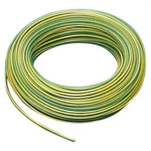 Aderltg H07V-K 25,0 grün-gelb flexibel,50m Ring,RAL6018/1021