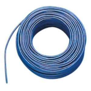 Aderltg., H07V-K 4,0, blau flexibel, 100m Ring, RAL 5015