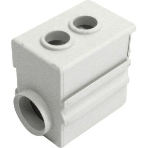 Anschlußklemme 35 mm² isoliert, grau