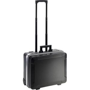 B&W Rolli-Werkzeugkoffer ABS, schwarz, Leerkoffer
