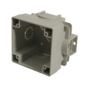 CEE-UPD 16A,5p.6h, 400V, IP44 (RAL 7035) hellgrau