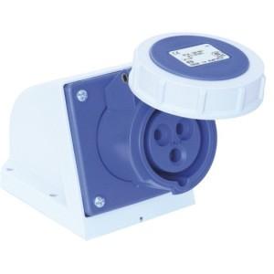 CEE-WD 16A, 3p.6h, 230V, IP67 blau
