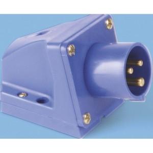CEE-WGSt. s 16A, 3p.6h, 230V blau, IP44, SIROX