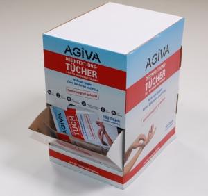 Agiva  Desinfektions-Tücher 100 Stück -  2in1