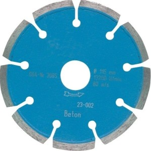 Diamant-Trennscheibe LC, 230mm Bohrg.22,23mm, Universal,Beton