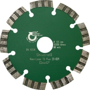 Diamant-Trennscheibe  Turbo  Laser TS Plus, Bohrg. 22,23mm