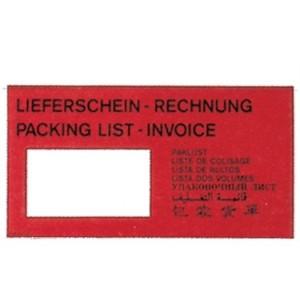 Dokumententaschen 240x145 Lieferschein+Rechnung