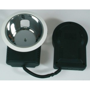 Downlight-Einbauleuchte DELUNA 1x18W, EVG, G24q-2, IP20, weiß