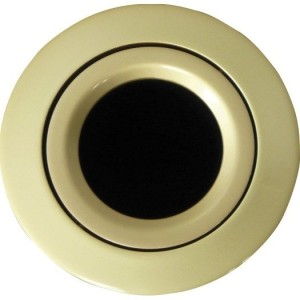 Einbaustrahler schwenkbar gold matt, 50 W ohne Clipring