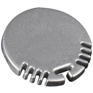 End-Kappe für Alu-Rundprofil Rund 24x24 mm