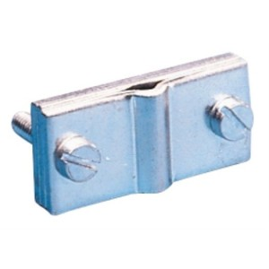 Erdungsklemme für Bandeisen bis 35mm u. Rundleiter 8-10mm