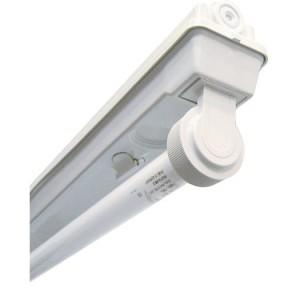 Feuchtraum-Leuchte 36W, freistrahlend, für LED verdr.