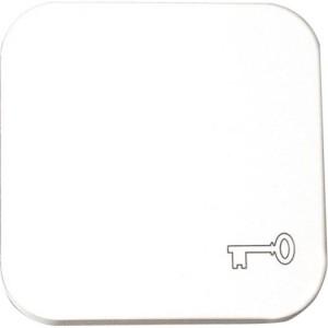 Flächenwippe f.Schalter+Taster weiß, mit Schlüssel-Symbol