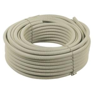 Flex.-Rohr, EN25, 50mtr. Ring hellgrau/leicht/320N/FIR 2221L