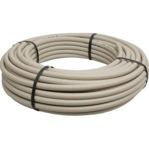 Flex.-Rohr, EN25, 50mtr. Ring hellgrau/mittel/750N/FIR 3321S