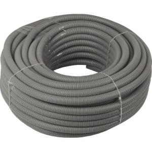 Flex.-Rohr, EN32, 25mtr. Ring grau/mittel/750N/FIR 3341M