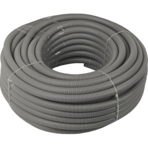 Flex.-Rohr,EN40,25 mtr. Ring grau/mittel/750N/FIR 3341M