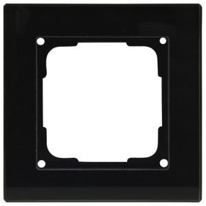 Fusion Glasrahmen 1f., sw Rahmen 1 fach, schwarz