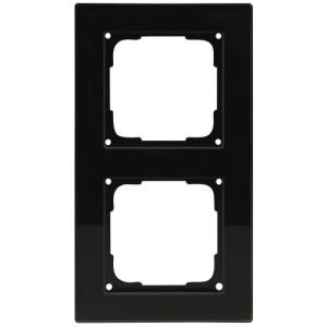 Fusion Glasrahmen 2f., sw Rahmen 2 fach, schwarz