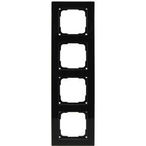 Fusion Glasrahmen 4f., sw Rahmen 4 fach, schwarz