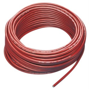 Gummileitung H07RN-F 5G1,5 rot, 50m Ring, RAL-3000,
