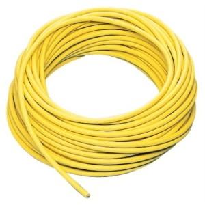 Gummileitung H07RN-F 5G2,5 gelb, 50m Ring, RAL-1021,