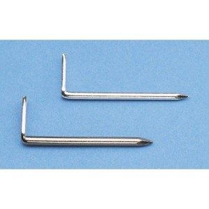 Haken-Nagel 3x50mm Stahl blank