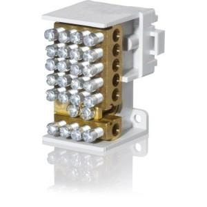 Hauptleitungsabzweigklemme 1 polig, 2x25mm², 12x16mm²