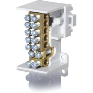 Hauptleitungsabzweigklemme 1 polig, 2x25mm², 6x16mm²