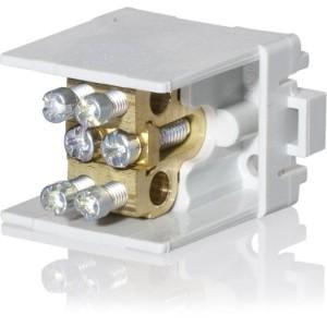 Hauptleitungsabzweigklemme 1 polig, 2x35mm², 2x25mm²