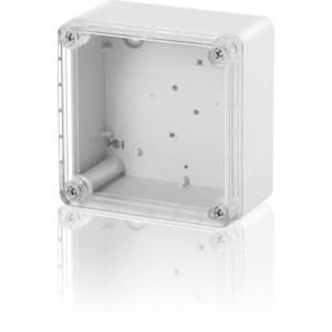 Industriegehäuse PC Deckel trans,105x105x66