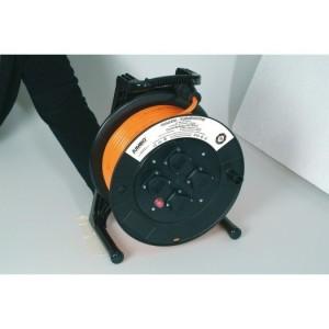 Jumbo-Kabeltrommel 33m H07BQ-F 3G2,5 qmm orange