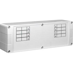 Klemmleiste für HKV 5-Kanal IP20, für bis zu 4STA/Kanal