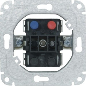Kontrollschalter Aus/Wechsel 10/16A,250V,50Hz, Steckklemmen