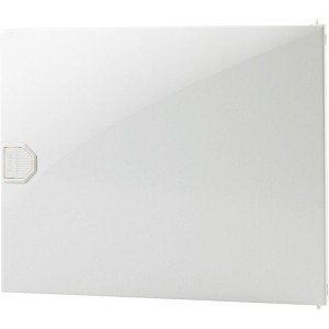 Kunststoff-Tür für 722.0044, Verteilerkasten, 1-rhg., weiß