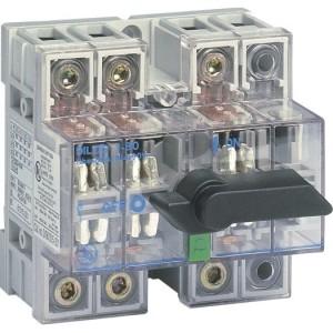Lasttrennschalter 125A/4P  Dilos1 , transparent
