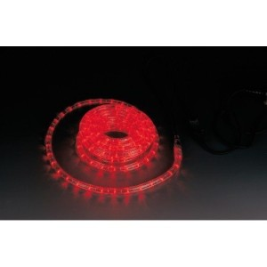 Lichtschlauch 230V rot ø=13mm, 45m RO mit 30 LEDs/m