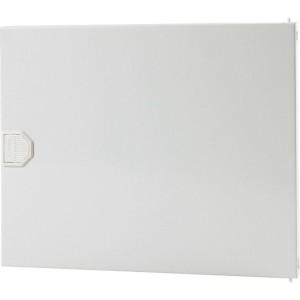 Metall-Tür für 722.0044,1-rhg. AP-Verteilerkasten, weiß