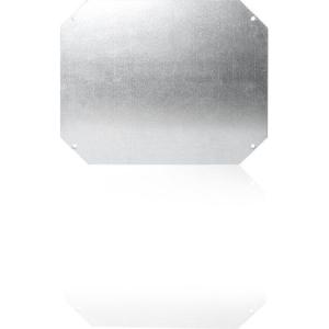 Montageplatte, Stahlblech 156x95x1,5 mm