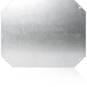 Montageplatte, Stahlblech 258x208x1,5