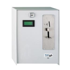 Münzzeitzähler, 230V, max 16A Einwurf 1,00 € Stück
