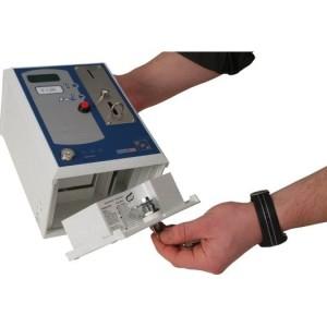Münzzeitzähler, 230V, max 16A Einwurf 50 Centstück